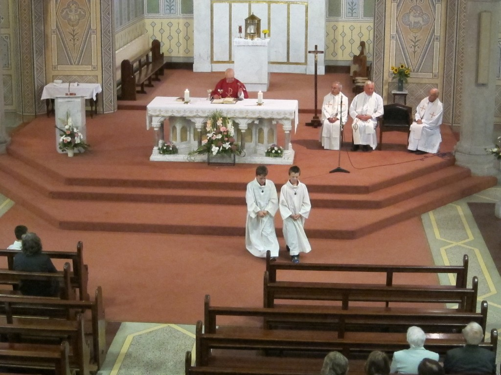 Fr. Broderick at his Retirement Mass