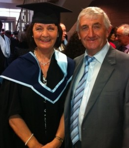 Mary Pedder Daly who recently received an MA in Conducting from C.I.T, the Cork School of Music